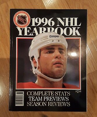 1996 Nhl Yearbook Eric Lindros On Cover - Great Condition*
