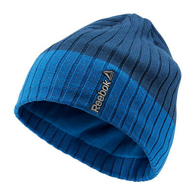 Reebok Sport Essentials Mens Fleece Beanie Winter Cap Hat