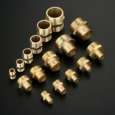 Male Thread Hex Nipple Equal Union Reducing Connector Pneumatic Air Fitting Pipe
