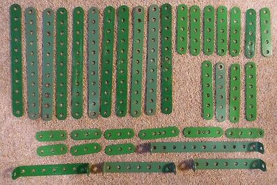 Meccano Various small strips