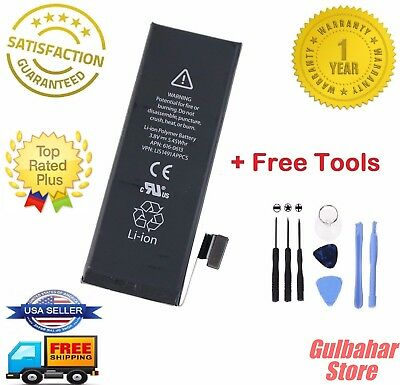 Brand NEW Original OEM Replacement iPhone 5S/5C Battery 1560 mAh+Free kit+ Tools