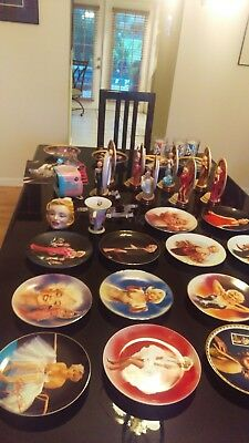 Marilyn Monroe Plates and Figurines