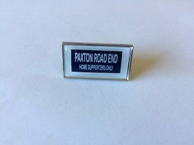 Tottenham Paxton Road End Home Supporters Only badge