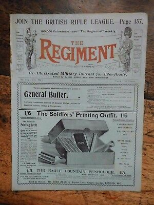 The Regiment,  Military Journal June 9Th 1900 Before Battle Airing Hospital Beds