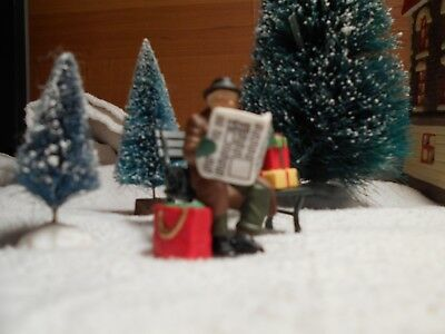 """Dept 56 Christmas In The City Accessory """"rest Ye Merry Gentleman"""" Item #55409"""