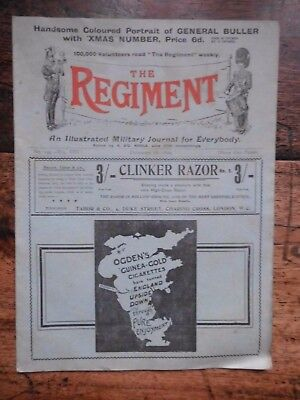 The Regiment,  Military Journal Dec 16Th 1899 14Th Middlesex , Inns Of Court