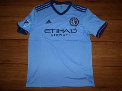 New York City FC 2017-2018 football shirt jersey MLS. Size Large