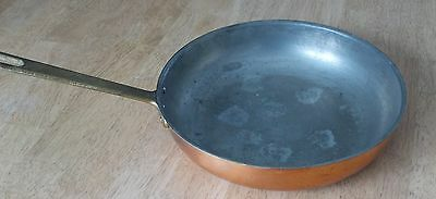 "TAGUS Portugal CHEF Copper Cookware 10"" FRY PAN / Saucepan / Skillet"