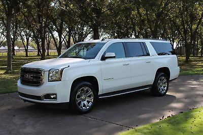2015 GMC Yukon XL SLT 2 Owner Perfect Carfax Heated and Cooled Seats Nav 20's Factory Warranty