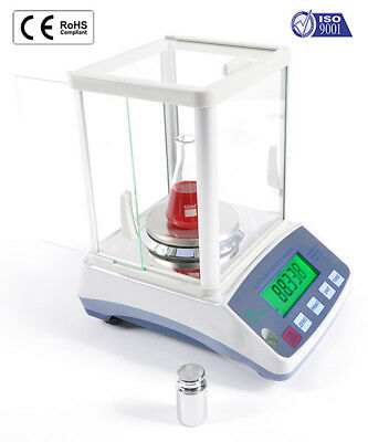 Analytical Balance 100g HRB103 Scale Density Laboratory Portable 1mg increments