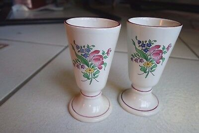 2 mugs coupe Luneville