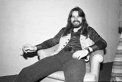 Bob Seger Candid Backstage One Original 35Mm B&w Negative With Copyrights