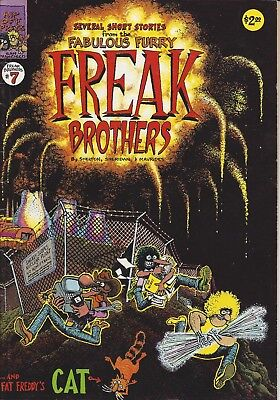 Fabulous Furry Freak Brothers No. 7 - Underground Comic Book - Adult Comic 1982