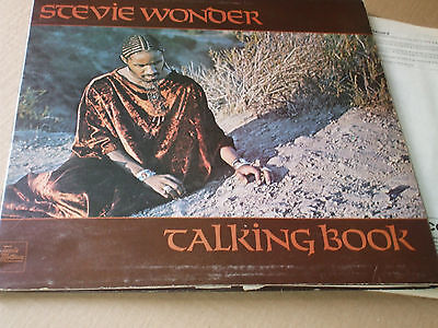 Stevie Wonder Talking Book 1972 Vinyl Lp Record Vg Con