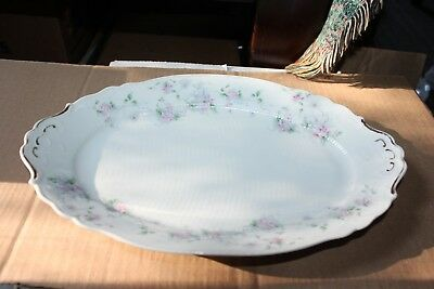 Austria Imperial Crown China Platter  #1564