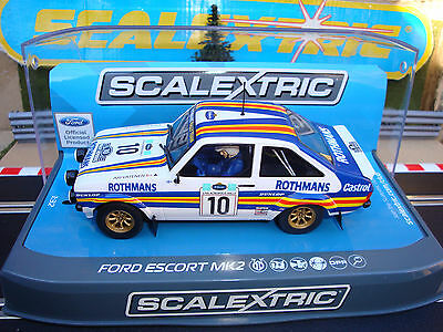 C3749 Brand New Boxed Scalextric Escort Mk2 With Lights & Dpr - Acropolis Rally