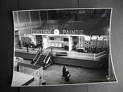 British Paints Display  Exhibition Building