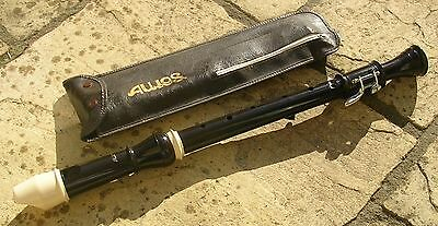 Aulos Tenor Recorder 311 With Case / Excellent Condition