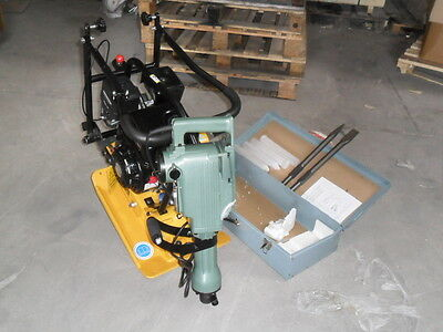 WACKER PLATE COMPACTOR PLATE COMPACTION PLATE c60 with 240 v kango breaker