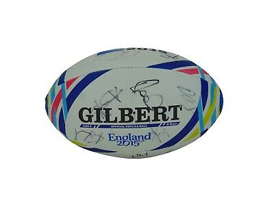 New Zealand All Blacks Signed Rugby World Cup Winners Ball 2015 + *photo Proof*