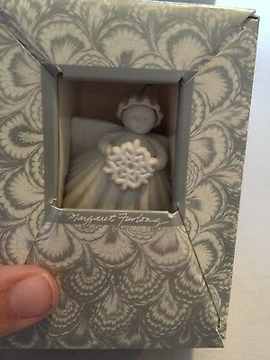 "Margaret Furlong 3"" Angel Ornament Snowflake"