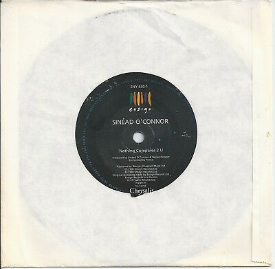 """Sinead O'Connor - Nothing Compares 2 U 7"""" Vinyl 1990"""