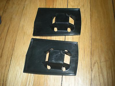 Nos 1973 - 1979 Ford F100 F250 Pickup Box Top Rail End Pads Front