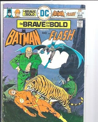 The Brave and the Bold Issue 125 Batman and Flash DC Justice League