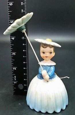 BEAUTIFUL Vintage Napco Flower Lady Figurine  #24