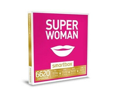 Cofanetto Smartbox Super Woman idea regalo donna