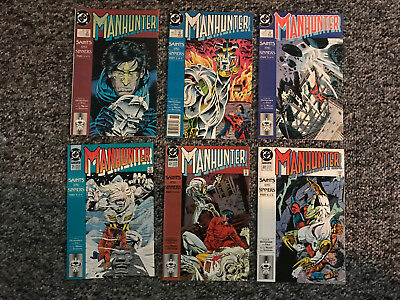 Dc Comics Manhunter #18,19,20,21,22,23  Saints And Sinners Parts 1-6 Complete
