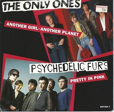 "The Only Ones - Another Girl Another Planet 7"" Vinyl 1992"