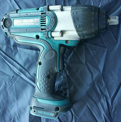 makita 18V LXT BTW450 Lithium Ion Cordless 1/2' High Torque Impact Wrench used