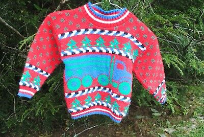 Vintage 3T Toddler Ugly Christmas Sweater