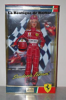 Scuderia Ferrari Barbie Doll, Barbie Loves Sports Collection, 25636, 2000, Nrfb