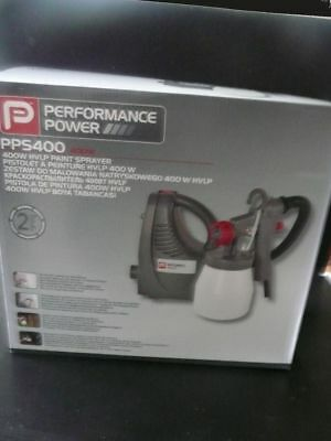 Power Performance PPS400 - Electric Paint Sprayer System 400w Brand New