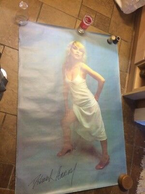 Blondie Debbie Harry Huge Original Vintage Poster 1979