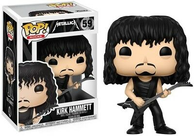 Metallica - Kirk Hammett - Funko Pop! Rocks: (2017, Toy NUEVO)