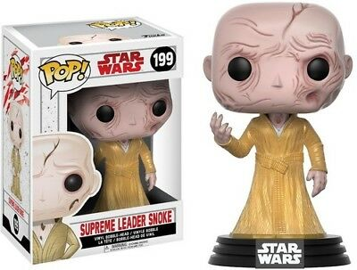 The Last Jedi - Supreme Leader Snoke - Funko Pop! Star Wars: (2017, Toy NUEVO)