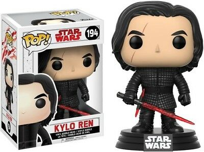 The Last Jedi - Kylo Ren - Funko Pop! Star Wars: (2017, Toy NUEVO)
