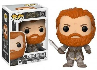 GAME OF THRONES - TORMUND - Funko Pop! Television: (2017, Toy NUEVO)