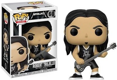 Metallica - Robert Trujillo - Funko Pop! Rocks: (2017, Toy NUEVO)