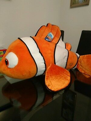 Disney Large soft toy nemo new with tags