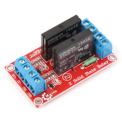 5Pcs Two Way Solid State Relay Module For Arduino