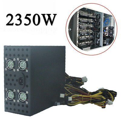 2350W Power Supply For Eth Rig Ethereum Coin Mining Miner Dedicated Machine