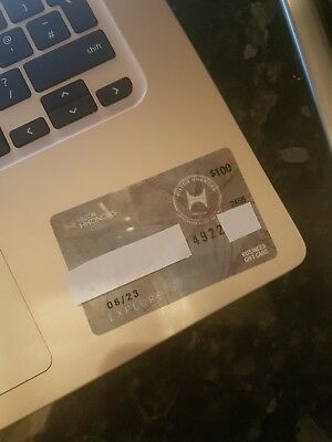 $100 hilton honors gift card