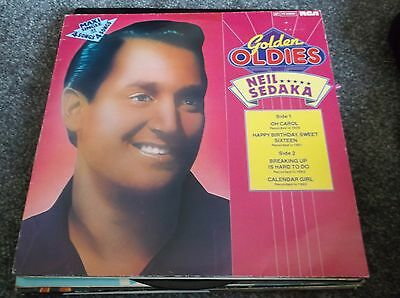 "Neil Sedaka 12""  Golden oldies maxi single rare import"