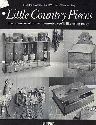 Little Country Accessories Pieces Pattern