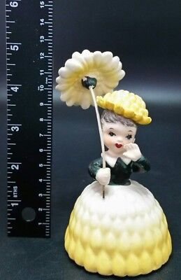 BEAUTIFUL Vintage Napco Flower Lady Figurine #26
