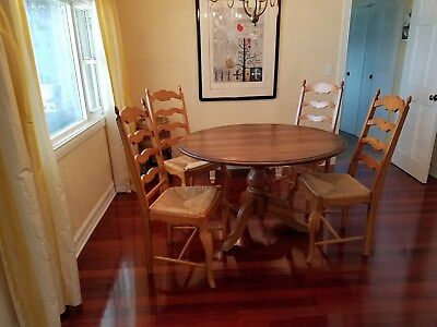 Set of 4 Country French Dining Chairs,